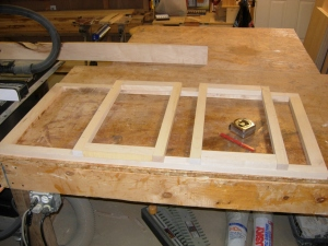 Laying out the frames