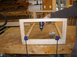 Attaching the frames