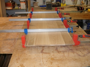 Full panel glue up