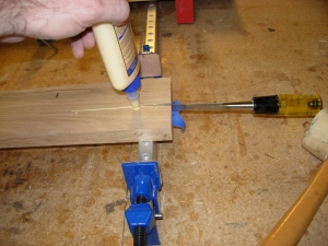 Fixing a crack