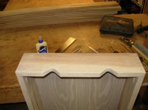 Dowels cut and sanded