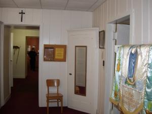 Existing corner cabinet