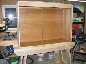 Cabinet body assembled