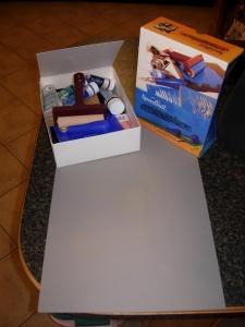 Stamp making kit