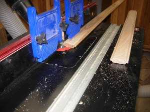 Cutting more edge banding