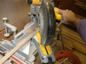 Mitering the banding