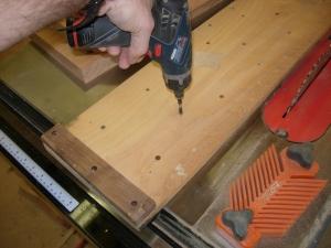 adjusting the sled elevation points