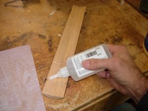 A dab of CA glue