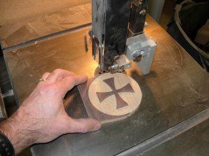 Cutting the circle door