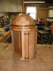 Tabernacle with first coat