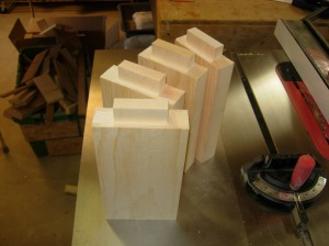 Headboard extensions cut out