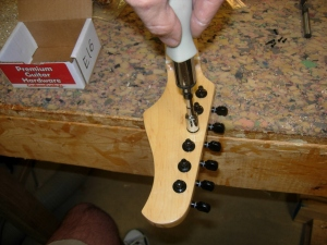 Mounting the tuners
