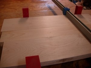 Clamping from right to left
