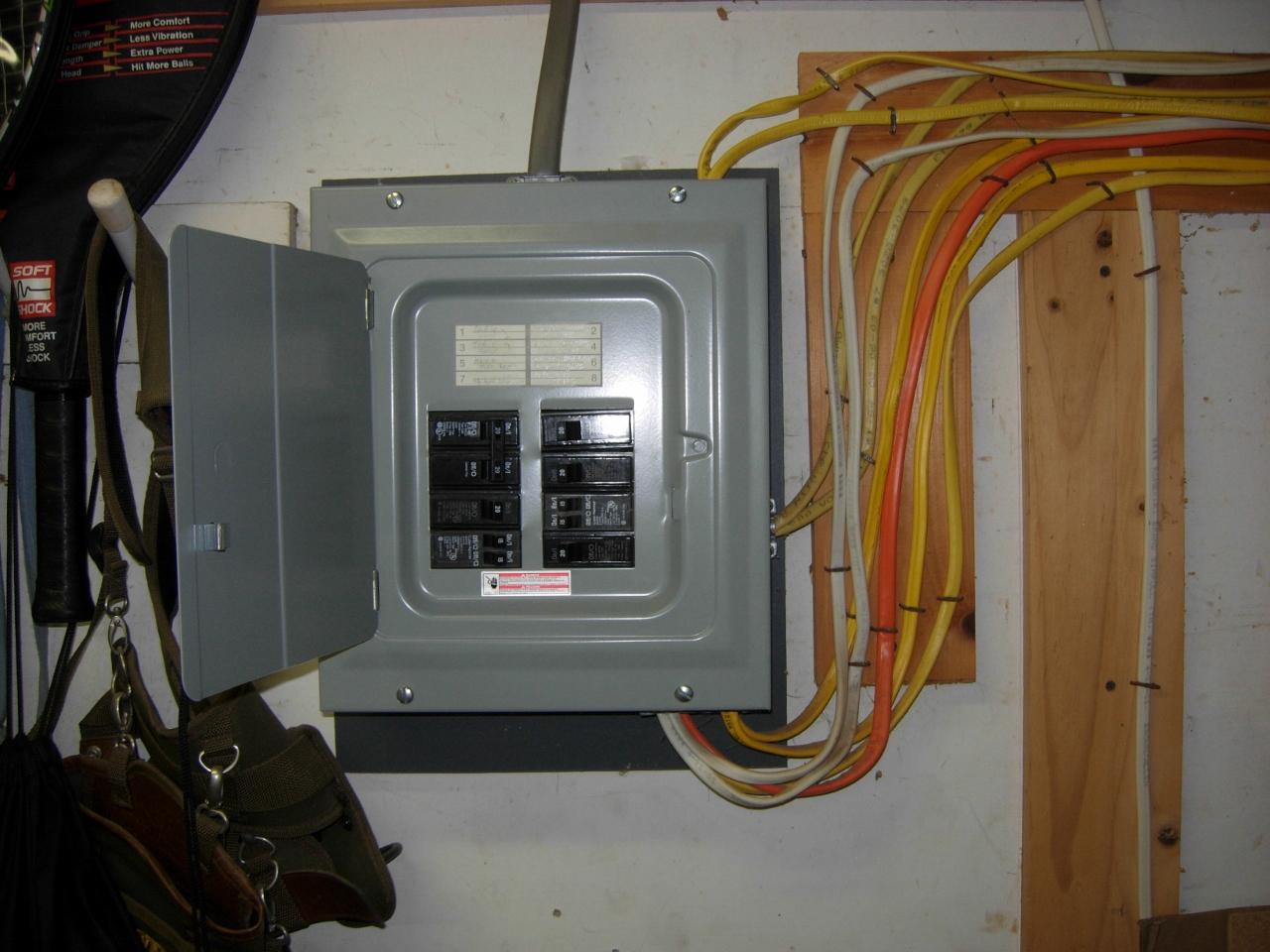 Old Sub Panel Wiring - Wiring Diagram •