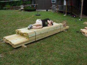 Flattening the lumber