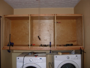 Installing the cabinet boxes