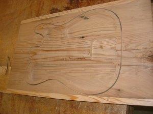 Bottom carve complete