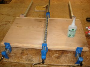Attached side rails with the CA glue this time