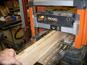 Planing and jointing