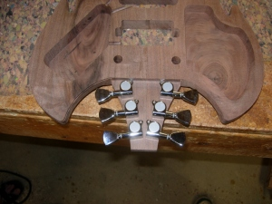 Test fit the tuners