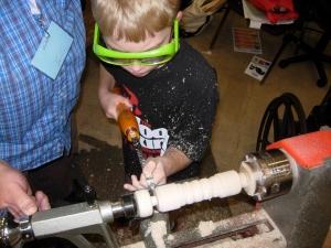 Adam's first light saber handle