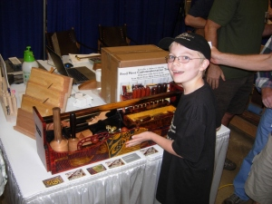 Adam tried to win this awesome tool box