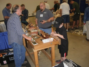 Field testing a block plane kit at Hock Tools