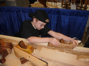 Testing hand-made planes by Scott Meek