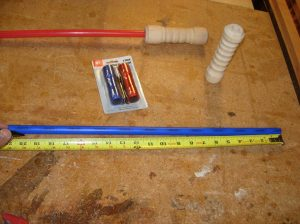 Marking the PEX water line