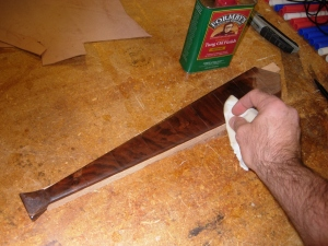 Low gloss Tung oil