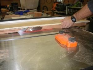 Cutting the first taper