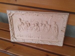 Last supper carve