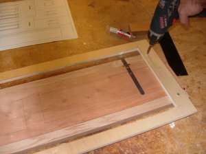 Mounting rails to the jig