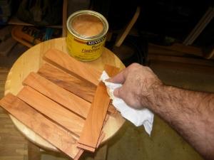 A coat of paste wax
