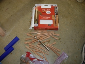 Stepped Miller dowels