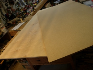 "3/4"" particle board over 3/4"" birch"