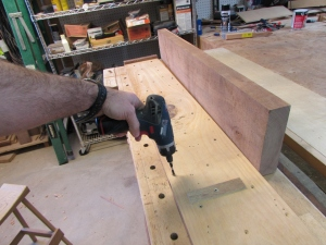 Adjusting the planing sled