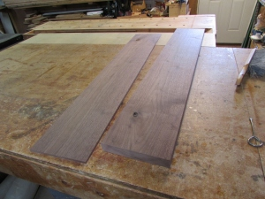 Re-sawn and planed