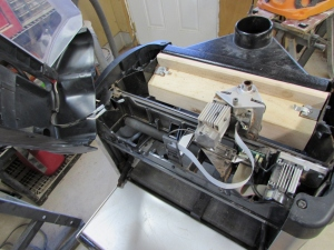 The cut motor died in the carver