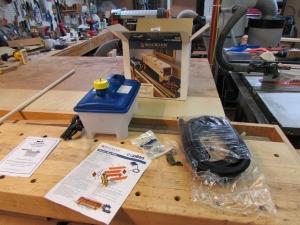 Rockler steam bending kit