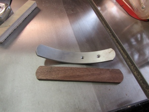 Cut and sanded