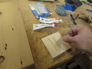 Mixing up epoxy