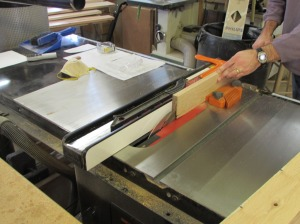 Re-sawing to save the planer blades