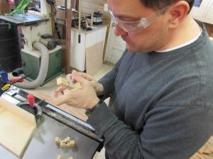 Sanding the dados