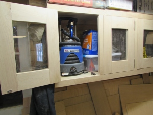 Back in the cabinet