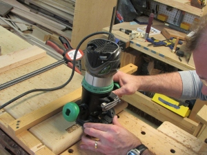 Routing the stopped dados