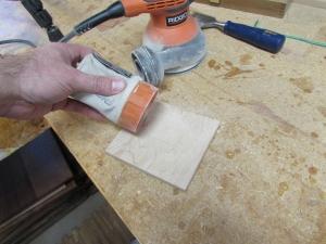 Harvesting wood flour