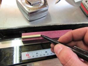 Marking the tube length