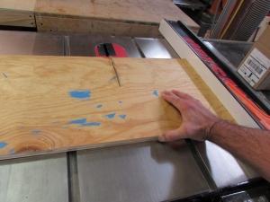 Cutting scrap backer boards