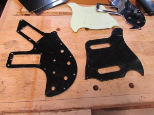 Finished pick guards